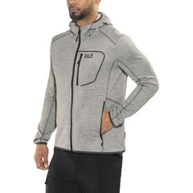 Jack Wolfskin Skyland Hooded Jacket Herren pebble grey